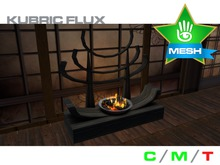 KUBRIC FLUX - Japanese Fireplace - Logs