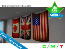 KUBRIC FLUX - Flag Wall Hangings 02