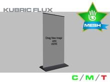 KUBRIC FLUX - Roller Banner Sign 01