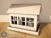 O.M.E.N - Home - Candle House - white