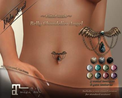 ~Misha Jesuil~ Belly Chandelier Angel