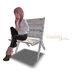 Mesh old garden chair whiteblue s02 basteth