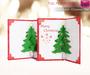 Meli Imako Full Perm Mesh 3D Cards - Xmas Tree Christmas Card