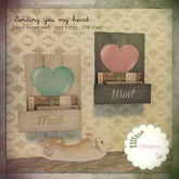 *windsong. ; sending you my heart { birch & teal }