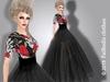 FaiRodis Morgana mesh+flexi dress