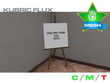 KUBRIC FLUX - Easels - 3 Wood Versions - Pack 01