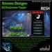 Xtreme DJ TipJar - Neon Mesh -