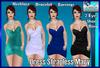 **((S.A))** Dress Strapless Mary TMP, Maitreya, Belleza, Slink
