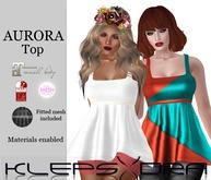 Klepsydra - Aurora top - DEMO