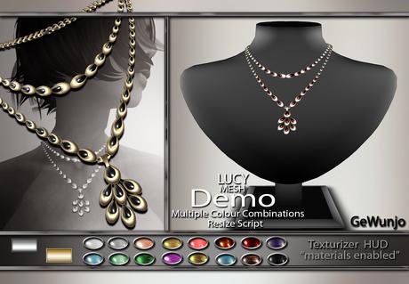 GeWunjo : LUCY necklace DEMO
