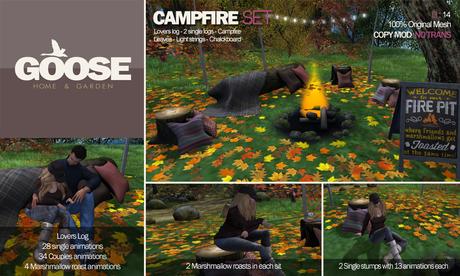 GOOSE - Campfire set