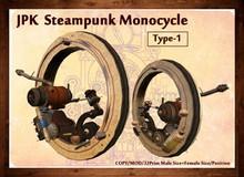 **JPK Steampunk Monocycle Type-1 BOX