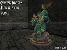 Chinese Dragon Statue [Jade Serie]