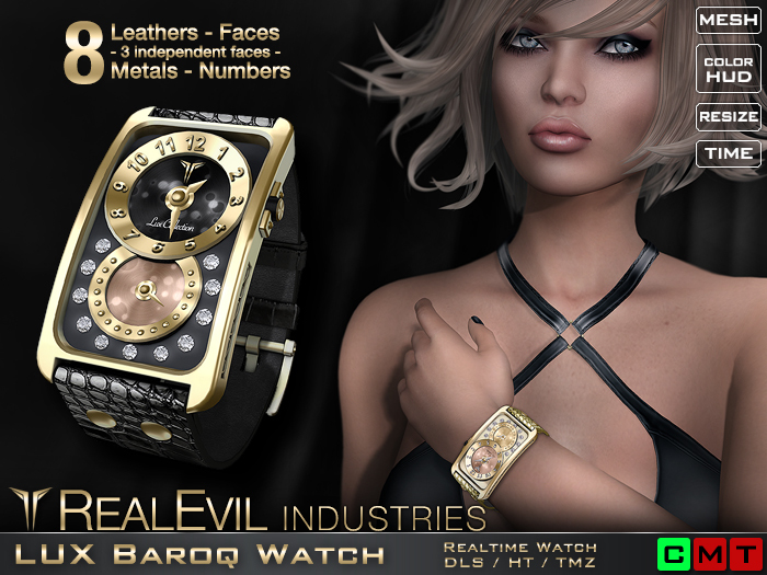 **RE** LUX Baroq Watch * MESH * (**LUX Collection**)