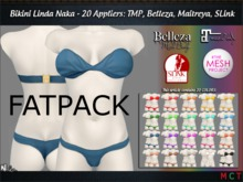 Bikini Linda (FATPACK 20 Appliers: TMP, Slink, Belleza, Maitreya) NAKA