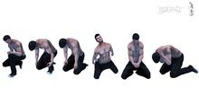 Thrust Poses - Kneel Pose Set