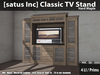 [satus Inc] Classic TV Stand - Hard Maple
