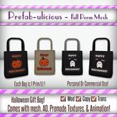 Prefabulicious Full Perm  - Mesh Halloween Bag Gift