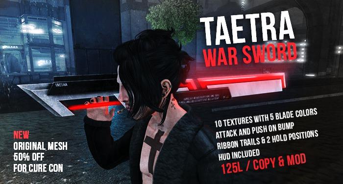 Taetra - War Sword