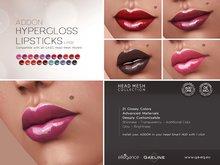 [GA.EG] Mesh Heads Addon - LP02 Hypergloss Lipsticks