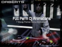 New Motion Capture Animations - Model Clubhead DJ