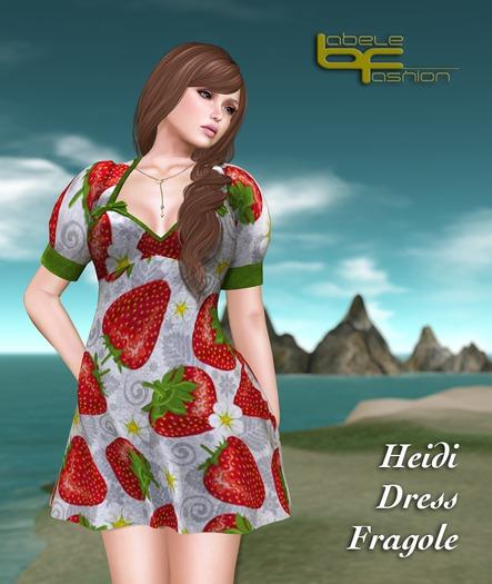 Babele Fashion :: Heidi Dress Fragole