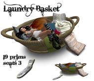.:-CatniP-:. Laundry Basket Bed