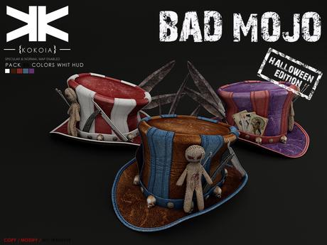 Bad Mojo :: Hat :: 5b Colors :: {kokoia}