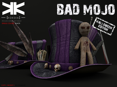 Bad Mojo :: Hat :: Black :: {kokoia}