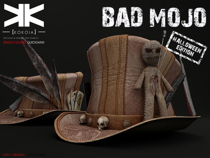 Bad Mojo :: Hat :: Quicksand :: {kokoia}