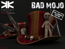Bad Mojo :: Hat :: Venetian Red :: {kokoia}
