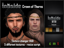 Inkside - Crown of Thorns Texture changer HUD - 5 textures