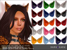KARU KARU - Neko Cat Ears (16 Colors)