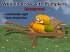 WheelBarrow Pumpkin Cherrywood