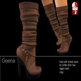 DEMO BD-Geene Knitted Heels SLINK High