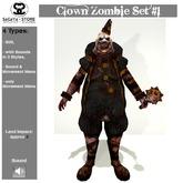 SaCaYa - Clown Zombie Set #1