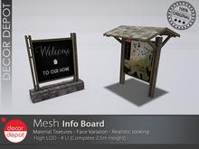 [DD] - FULL PERM  Info Board
