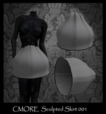 CMORE - Sculpted Skirt 001 Full Perm