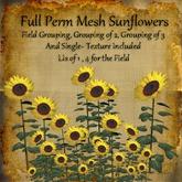 Bad Katz Mesh Sunflowers