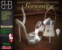 !!BHB!! SERENITY GLASS SLIPPERS  (slink, belleza, resize)