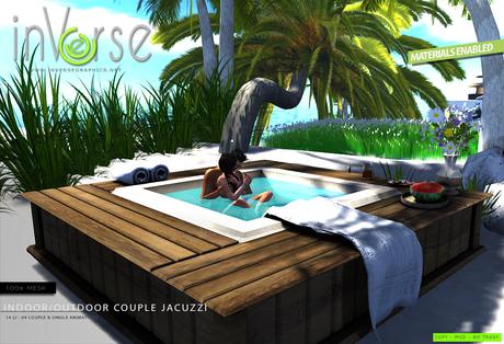 inVerse® MESH -Indoor/outdoor couple Jacuzzi
