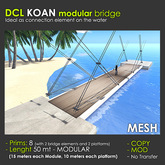 DCL KOAN Bridge - 8 prims