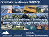 FAT PACK All Solid Sky Landscapes