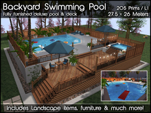 Swimming Pool & Deck v1.0 (Package)