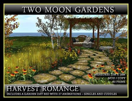 HARVEST ROMANCE - Landscaped Garden