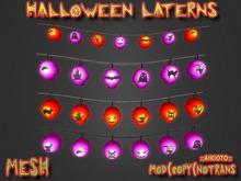 [AIKIOTO] Halloween Laterns (BOX)