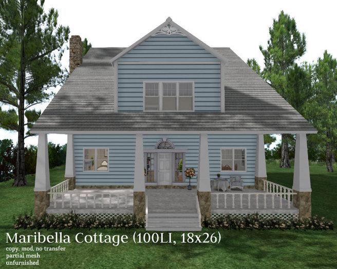 Maribella Cottage (100LI, 18x26)