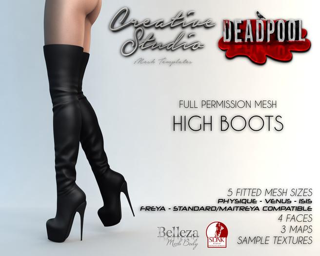 - CREATIVE STUDIO - High Boots