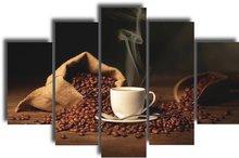 Coffee Beans - Panel Wall Art
