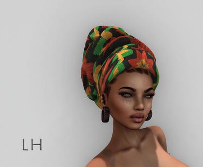 L&H :: Head wrap  :: Rasta - Afriyie  -